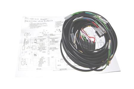 Kabelbaum PXLusso italienisch ohne Batterie