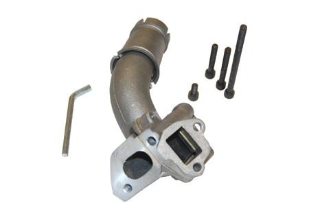 Ansaugstutzen Polini 19mm PK 2 Stehbolzen Doppelansauge
