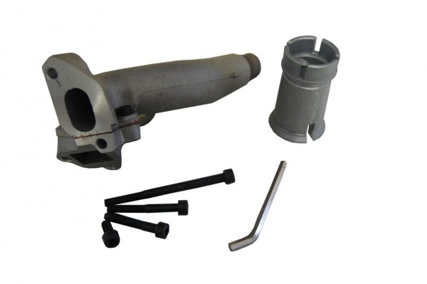 Ansaugstutzen Polini 19mm PK 3 Stehbolzen Doppelansauge
