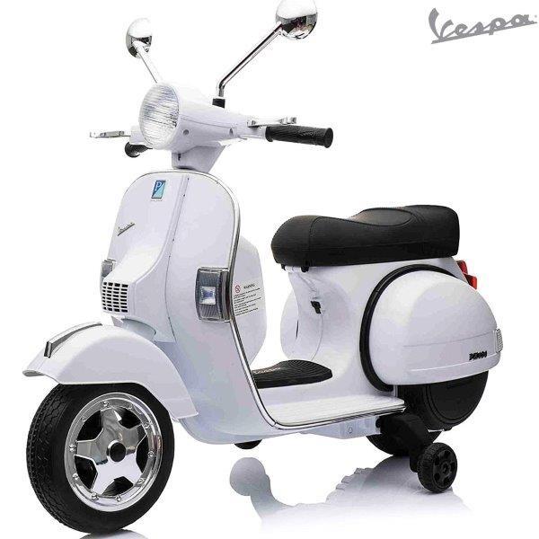Kinderroller Vespa PX - Elektro 12 V - weiss