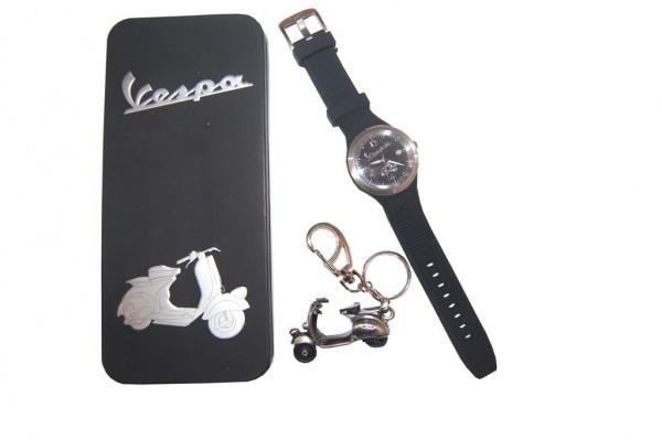 Armbanduhr schwarz für Frauen