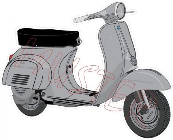 Aufkleber Vespa Modell V50